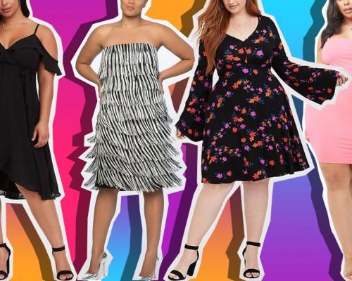 Modele de rochii marimi mari pentru tinute la moda